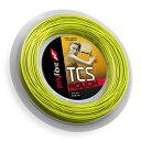 ポリファイバー TCS ラフ(125mm/1.30mm)200Mロール 硬式テニスガット ポリエステルガット(Polyfibre TCS Rouch 200M ...