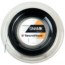 テクニファイバー(Tecnifibre) DNAMX 17(1.20mm) ブラック 200Mロール スカッシュ マルチフィラメントガット (19y4m)[次回使えるクーポンプレゼント]
