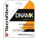 4日20時から10%OFFクリスマスクーポン】[単張パッケージ品]テクニファイバー(Tecnifibre) DNAMX 17(1.20mm) ブラック 9.7M スカッシュ マルチフィラメントガット (19y4m)[次回使えるクーポンプレゼント]
