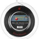 キルシュバウム プロライン2 ラフ (1.20/1.25/1.30mm) 200Mロール 硬式テニスガット ポリエステル ガット(KirschbaumPro L...