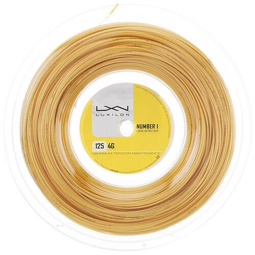 ルキシロン 4G(1.25mm/1.30mm) 200Mロール 硬式テニス ポリエステル ガット(Luxilon 4G 200m String Reel)【2016年7月登録】