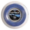 トップスピン サイバー ブルー(1.20mm/1.25mm/1.30mm) 220Mロール 硬式テニス ポリエステルガット(Topspin Cyber Blue...