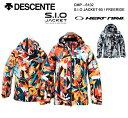 スキーウェア ジャケット/DESCENTE デサント S.I.O JACKET 60 / FREERIDE CMP-6102(2016/2017)