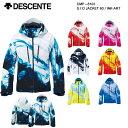スキーウェア ジャケット/DESCENTE デサント S.I.O JACKET 60 / INK-ART CMP-6103(2016/2017)