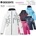 スキーウェア レディースジャケット/DESCENTE デサン...