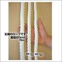 国産ロープ/ビニロン極太ロープ 直径20mm/5m(クレモナ)クライミング【YDKG-tk】