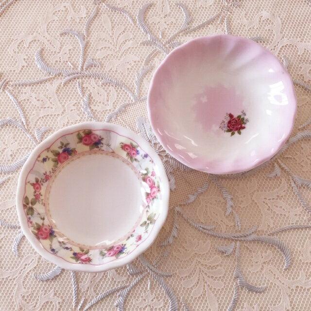 メラミン製小皿薔薇雑貨ローズ雑貨キッチン雑貨メラミン樹脂キッチンツール食器