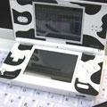 貼るだけ!オリジナルDSに大変身!Nintendo DS Lite(ニンテンドーDS Lite) スリムスキン[milk cow]