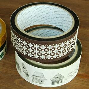 o-check テープ 35mm [手帳 ダイアリー ラッピングテープ デコレーション コラージュ シール 幅広 かわいい]【楽ギフ_包装】