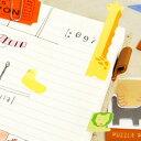 ミドリ 付箋 パズル ★メール便送料160円[MIDORI 付箋紙 ふせん ポストイット 動物 アニマル いぬ ねこ 犬 猫 かわいい]【楽ギフ_包装】