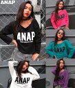 【50%OFF】『ANAP』ロゴプリントロンTEE【アナップ...