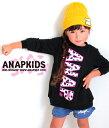 【30%OFF】アニマルロゴチュニック【アナップキッズ ANAP KIDS キッズ ワンピース キッズ