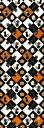 手ぬぐい「黒猫ハロウィン 黒系」ハロウィン/Halloween/オバケ/黒猫/かぼちゃ/コウモリ/手拭/てぬぐい/tenugui