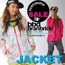 """[スノーボードウェア レディース ジャケット]■旧作売尽しSALE 15-16!モデル■""""branbride ブランブライド""""[15-16 NEW MODEL]..."""