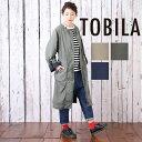 TOBILA(トビラ) ピーチツイルノーカラーコート (3色