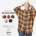 【12/13 20:00販売開始】 チェックシャツ / cube sugar evo.(キューブシュガーエボ)