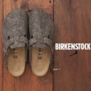 ショッピングBIRKENSTOCK BIRKENSTOCK(ビルケンシュトック) BOSTON COCOAフェルトサンダル(1色) 【ココア】【ブラウン】【ボストン】【GC160363】