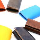 本革 財布 ウォレット コンパクト 薄い 小さい 軽い 三つ折り 極小財布 小銭入れ コイ