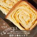 【送料無料】京の贅沢3本セット・三種のちーずデニッシュ食パン1本と選べるデニッシュ