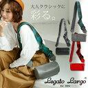 【LegatoLargo/レガートラルゴ】チェックリボン筒形...