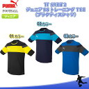X-T PUMA(プーマ)TT SPIRIT 2 ジュニアSSトレーニングTEE半袖プラクティスシャツ654818サッカー フットサル