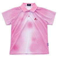LUCENT(ルーセント) Ladies ゲームシャツ(パステルピンク) XLP4652 テニス 15SSの画像