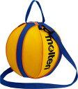 モルテン(Molten) NB10YB バスケットボールバッグ(1個入れ) イエロー×ブルー 17SS
