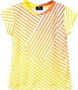 LUCENT(ルーセント) XLH2292 テニス レディース ゲームシャツ オレンジ 17FW