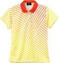 LUCENT(ルーセント) XLP4932 テニス レディース ゲームシャツ オレンジ 17FW