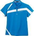 LUCENT(ルーセント) XLP4947 テニス レディース ゲームシャツ ブルー 17FW