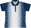 LUCENT(ルーセント) XLP4856 テニス レディース ゲームシャツ ネイビー 18SS