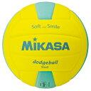 ミカサ(MIKASA) キッズドッジボール2号 キ/ミドリ SDB2YLG 12SS