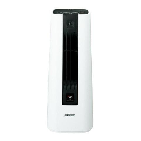 《送料区分1》シャープ セラミックファンヒーター HX-ES1-W [ホワイト系]【11月19日入荷】