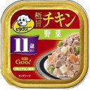 日本ペット ビタワングー 極旨チキン 野菜 11歳以上 100g GO-6