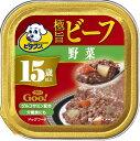 日本ペット ビタワングー 極旨ビーフ 野菜 15歳以上 90g GO-8