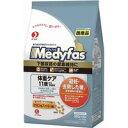 【在庫処分品】ペットライン メディファス 体重ケア 11歳から 老齢猫用チキン&フィッシュ味 1.4kg MF-37