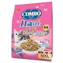 日本ペット コンボキャット 毛玉対応 11歳以上 かつお味・かつおチップ・かつおぶし添え 600g