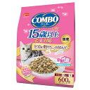 日本ペット コンボキャット 毛玉対応15歳以上 かつお味・焼きタラ・ちりめん添え 600g