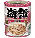【期間限定】アイシア 海缶ミニ3P かつお 60g×3缶 UMK3-11