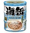 【期間限定】アイシア 海缶ミニ3P しらす入りかつお 60g×3缶 UMK3-12