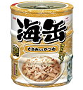 【期間限定】アイシア 海缶ミニ3P ささみ入りかつお 60g×3缶 UMK3-13