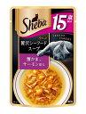 マース シーバアミューズ 15歳以上 贅沢シーフードスープ 蟹かま、サーモン添え 40g×★12個★ SAM131