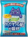 ショッピング猫砂 アース クリーンケア 色かわる紙の猫砂 6L