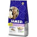 【在庫処分品】マース アイムス 毛玉ケア 複数飼い猫用(1歳〜12歳) チキン&白身魚味 1.8kg