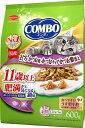 日本ペット コンボキャット 11歳以上 肥満が気になる猫用 まぐろ かつお味 かつおチップ かつお節添え 600g