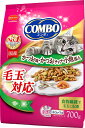 日本ペット コンボキャット 毛玉対応 かつお味 かつおチップ 小魚添え 700g