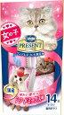日本ペット コンボプレゼント キャット おやつ 女の子 シーフードミックス味 42g(3g×14袋)