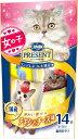 日本ペット コンボプレゼント キャット おやつ 女の子 チキンとチーズ味 42g(3g×14袋)
