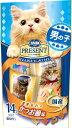 日本ペット コンボプレゼント キャット おやつ 男の子 かつお節味 42g(3g×14袋)
