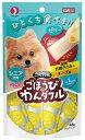 ペットライン ごちそうタイム ごほうびわんダフル シニア犬用 国産若鶏ささみ&チーズ味 48g GW-4